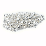 9 carat white gold granules