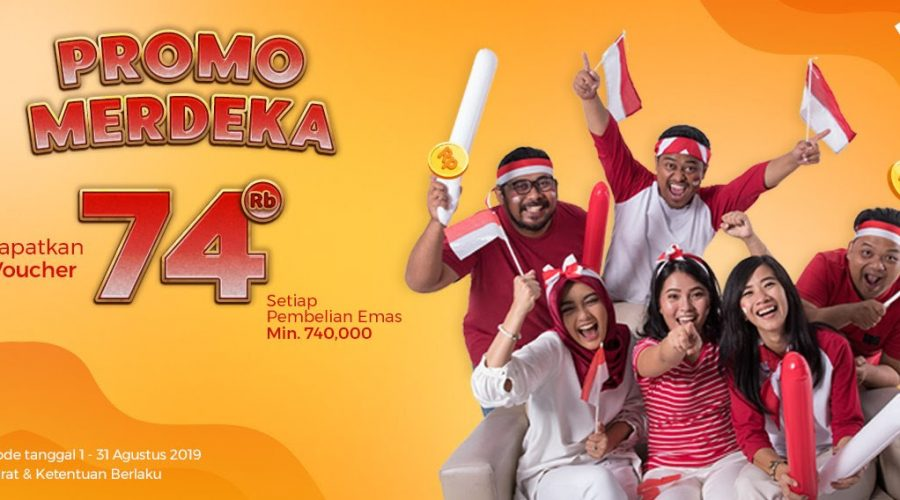 Promo Merdeka 74